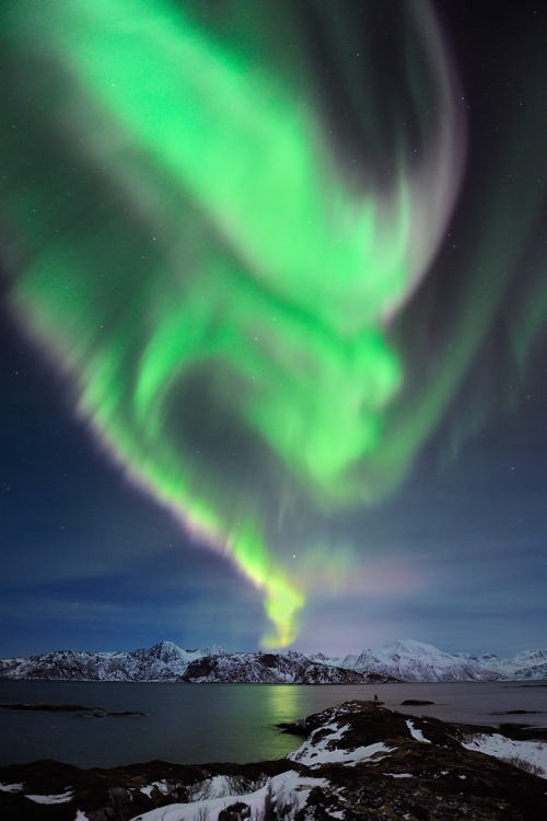 oecologia:  Aurora Over Tussøya (Norway) by Garcia Foto.