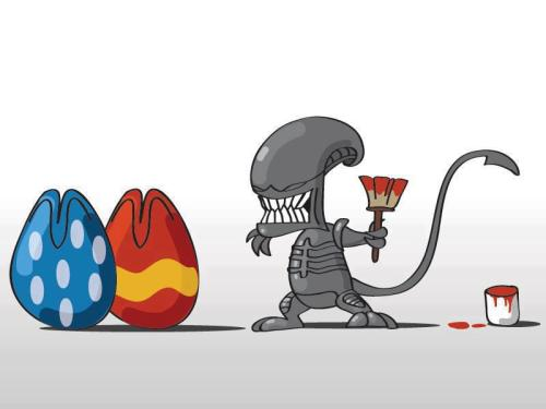 lustforaliens:  happy easter! ^^