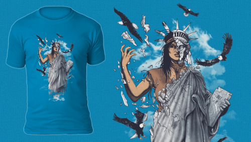 (via Liberty | unique-t-shirts | Polling | Teebusters)