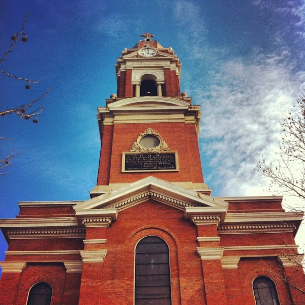 Historic St. Paul's Church #thisisotr #cincinnati #pendletonotr #church (at Bell Event Center)