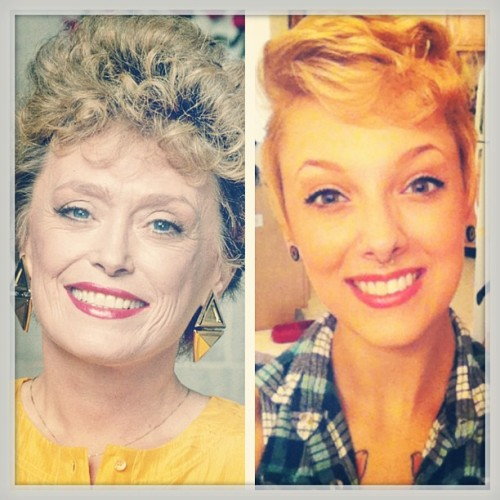 I think I look like a young Blanche Devereaux from #Goldengirls #lookalikes #sassyoldwomen