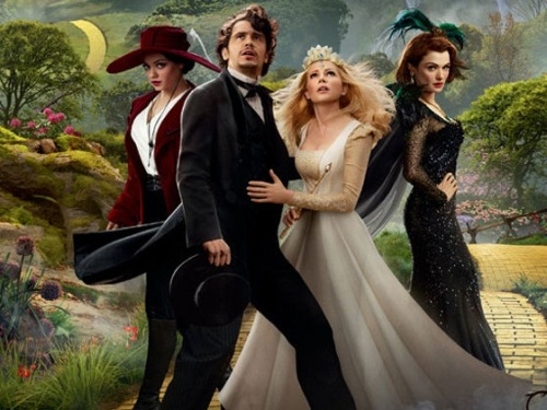 soundonsight:  Mousterpiece Cinema, Episode 88: 'Oz the Great and Powerful' You're…off to see the wizard! The powerful wizard of Oz! We hear he is a bit of a jerk, if ever a jerk there was! If ever, oh, ever a sleaze there was, the wizard of Oz is one because…because, because, because, because,because…because of the slimy old things he does! You're off to see the wizard! The powerful wizard of Oz! Yes, Josh and Mike are facing off against Disney's big new movie Oz the Great and Powerful. Did they find it lacking a heart, a brain, or courage? Were they sold by James Franco's turn as Oz himself? (Take a guess from the parody lyrics. You might have an idea.) You'll have to check out the new show to find out! CLICK HERE TO LISTEN TO THE SHOW