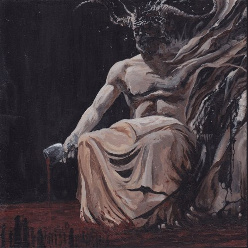 greyhairedstars:  THOU ART LORD - The Regal Pulse Of Lucifer by Manuel Tinnemans. Painting, 2013.