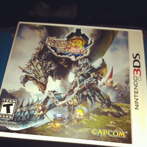 #monsterhunter #yay #3ds