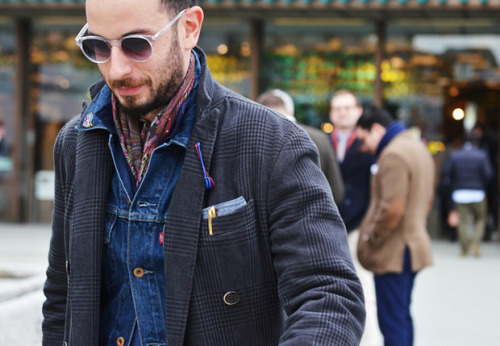 Wrote few words about denim jackets - post now up @Editors' Notes.