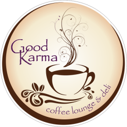 Please welcome Good Karma coffee lounge & deli to Denver Paint the Runway! About: From Manitou Springs, CO, Good Karma Coffee lounge & deli is a cozy warm lounge with so much more than great coffee. On the menu is signature sandwiches, wraps, soup du jour, coffee and tea. Join us! http://events.firstclassfashionista.com