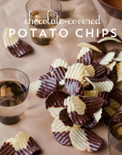 thecakebar:  Chocolate-Covered Potato Chips