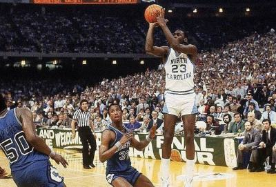 Game-Winning Shot, 1982 NCAA Division 1 Championship