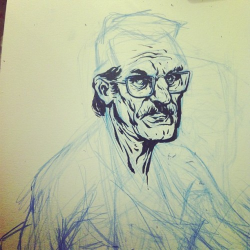 Working on a #breakingbad commission for a friend.  #letscook