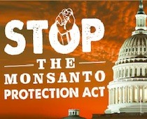 questionall:  TAKE ACTION! Help STOP the Monsanto Protection Act and tell your member of Congress to stand up for your rights and the Constitution! No matter what you believe about GMOs, the fact is that corporations should not have the right to fundamentally undermine our basic rights and constitutional freedoms in their relentless pursuit of profits. http://action.fooddemocracynow.org/sign/stop_the_monsanto_protection_act_today/?rd=1=6_akid=690.121557.77FigS