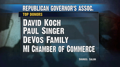 Republican Governors Association Donors