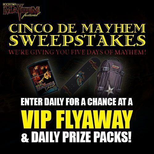 Announcing the Cinco De Mayo Mayhem Contest, Mayhem Special Military Ticket Offer, and More