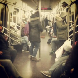 """Coney Island Bound Q"" #abrooklynsoul #brooklynpoets #Subway #OntheTrain #QTrain #ParkSlope #FlatbushAvenue #Underground #explore_brooklyn #explore_community #explore_nyc #MTA #NYCTransit #InTransit #PublicTransportation #NewYorkCity #NewYork #NYC #Brooklyn #Commuters  (at MTA Subway - 7th Ave (B/Q))"