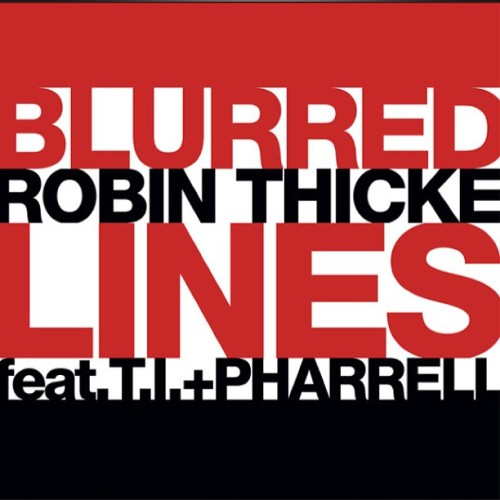 #RobinThicke ft #TI + #Pharrell - #BlurredLines  #songofthesummer (at Kingsborough Community College)