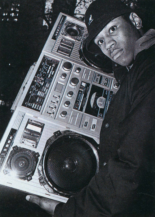 babylonfalling:  LL Cool J, 1984 Photo by Glen Friedman  Look at all this old-school dopeness. Just look at it!