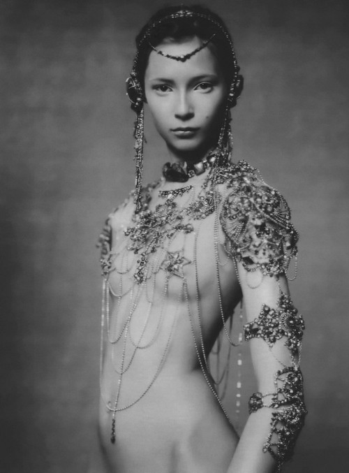 66lanvin:   'The Poetic Spirit' Tiiu Kuik by Paolo Roversi for Vogue Italia September 2003   DIOR par GALLIANO (Rise PHOENIX )…………No.8