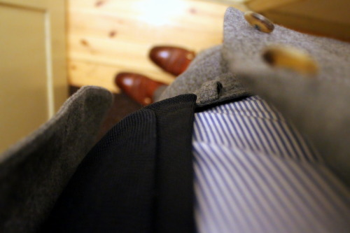 28/02/2013 Mid-grey flannel suit: Sauma MTM Shirt: Mastai Feretti Tie: Boggi Pocket square: Drake's London Shoes: Cheaney