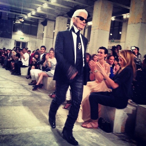 officialstyledotcom:  Karl!