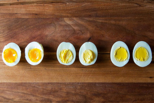 The look, feel and taste of Spring. food52:  Successfully boiling an egg is quite simple, really — all you need is a pot of water and a timer, and you're on your way to creamy yolks and glistening whites. We've found that the easiest way is the best way, and it just requires a few steps. Read more: The Best Way to Boil an Egg on Food52