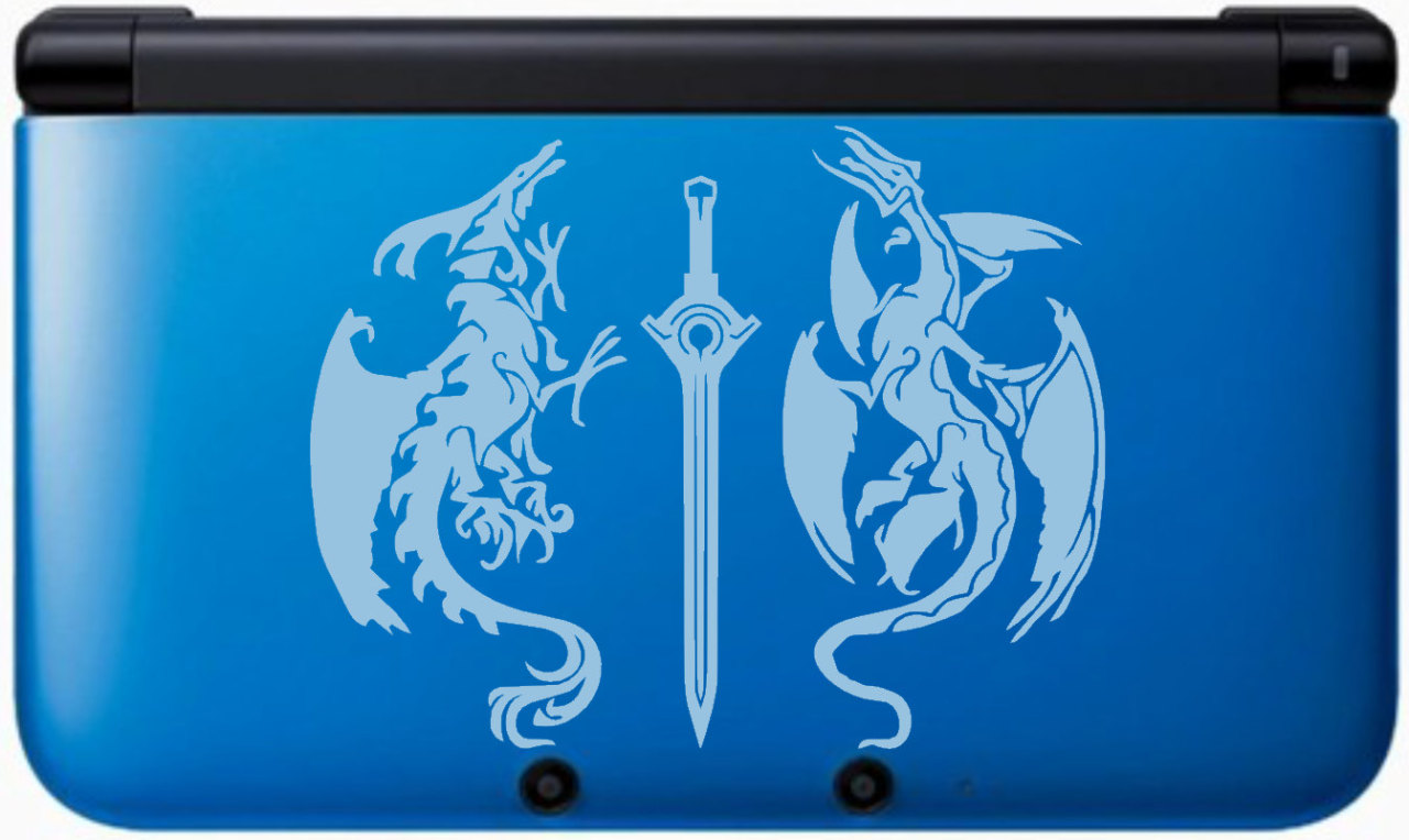 Get the Fire Emblem 3DS XL look for your system Yeah, the Fire Emblem: Awakening special edition 3DS XL is exclusive to Europe, but you can put together a reasonable facsimile with a blue 3DS XL and one of these decals from Etsy user GameThemedThings. Or you can put it on a different colored 3DS XL! Or get the decal in black. Or put it on a non-3DS thing. Or get one that fits on a standard 3DS. This is… way more versatile than importing a Euro 3DS XL.  It's also $10! That leaves you plenty of money to buy gifts for the special fellow/lady/transforming rabbit person in your party. BUY Fire Emblem: Awakening, upcoming games