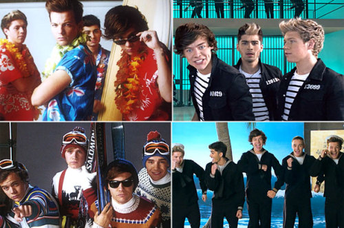 "One Direction put out a new video?! Yep. And the boys are ready to ""Kiss You"" in jail, on the beach, and more. Watch it here. Plus vote in our POLL! Is the video awesome, terrible or just OK?"
