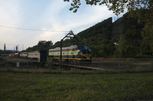 Monday, September 17, 2012 Historic Erie Turntable.  Port Jervis, NY.