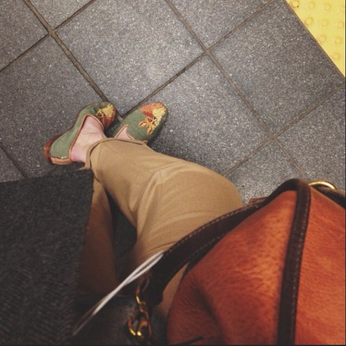 Subway is a game in patience and luck. (Shoes available here)