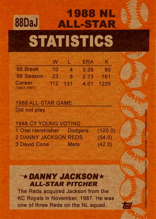 Jackson 1988 All-Star