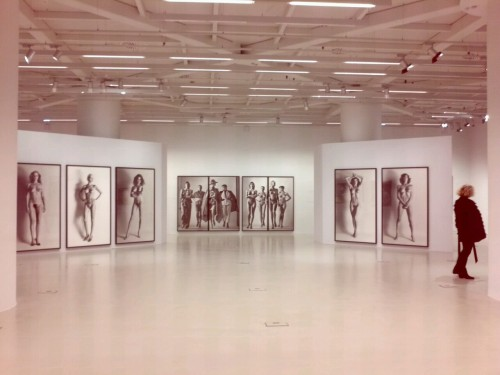 Helmut Newton's exhibition in Athens… crazy concepts