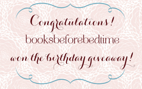 Congratulations to the winner of the Hey Wedding Lady birthday giveaway and a custom made 3-strand pearl & crystal necklace - booksbeforebedtime! Please message me or email me at thelady@heyweddinglady.com with your address!