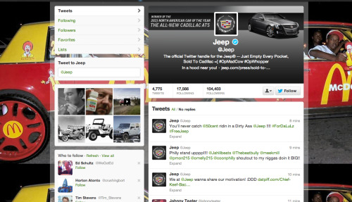 Now @Jeep has been hacked