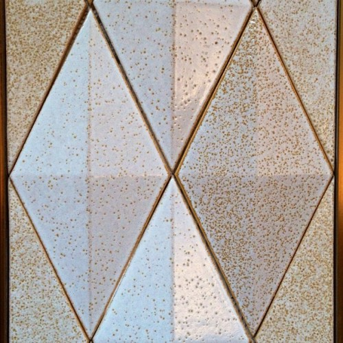 Feeling this tile today, #shapes #diamonds #triangles #tile #terra-cotta #spring #shop