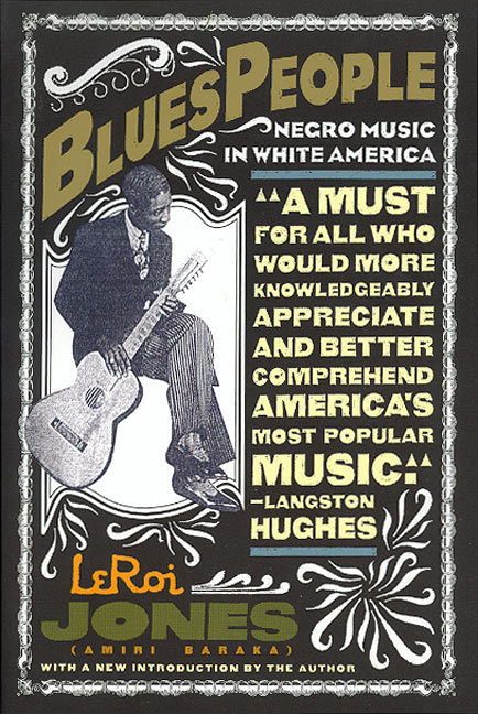 "so-treu:  blackpoemusic:  Blues People: Negro Music in White America ""The path the slave took to 'citizenship' is what I want to look at. And I make my analogy through the slave citizen's music — through the music that is most closely associated with him: blues and a later, but parallel development, jazz… [If] the Negro represents, or is symbolic of, something in and about the nature of American culture, this certainly should be revealed by his characteristic music."" So says Amiri Baraka in the Introduction to Blues People, his classic work on the place of jazz and blues in American social, musical, economic, and cultural history. From the music of African slaves in the United States through the music scene of the 1960's, Baraka traces the influence of what he calls ""negro music"" on white America — not only in the context of music and pop culture but also in terms of the values and perspectives passed on through the music. In tracing the music, he brilliantly illuminates the influence of African Americans on American culture and history.  i wish i could find a pdf of this online somewhere"