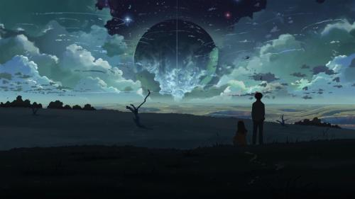 anime-backgrounds:  5 Centimeters Per Second. Directed by Makoto Shinkai. Created by CoMix Wave Inc.