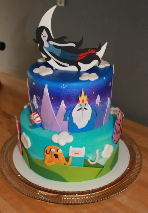 And this will be my burfday cake