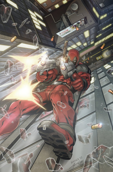 tenshi23:  Alvin Lee's Deadpool Fall Redux by ~JusticeCho