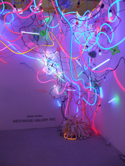itscontemporary:  Adela Andea - Untitled (2011) Neon Sculpture