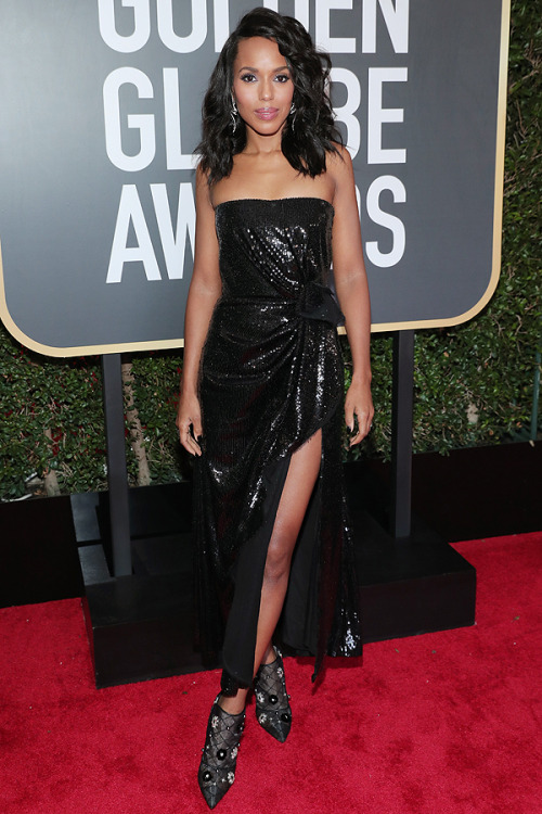 kerry washington golden globes golden globes 2018 red carpet