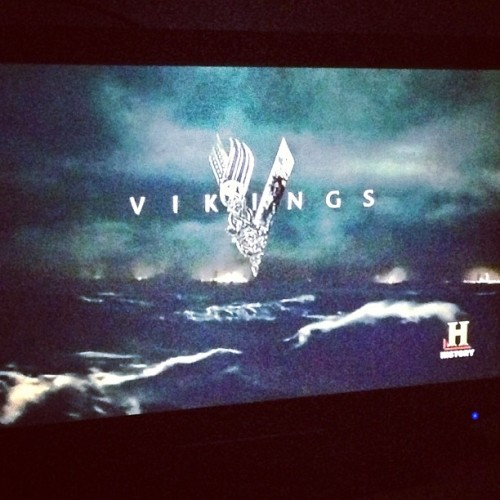 Sunday night watch #vikings