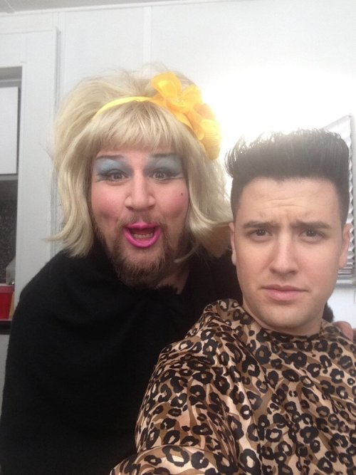 Well @1LoganHenderson there's no doubt it was a weird week…  Stephen Glickmann is totes looking P'Trique chic right now.