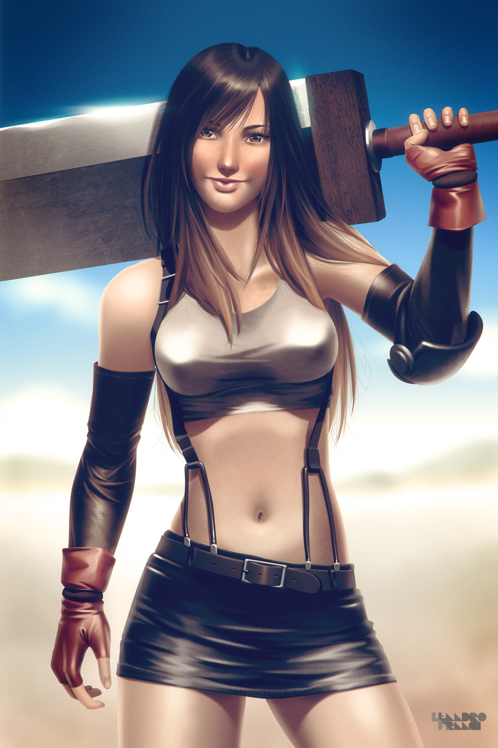 otlgaming:  TIFA LOCKHART by LEANDRO FRANCI