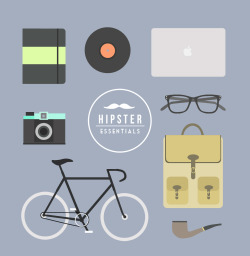 visualgraphic:  Hipster Essentials