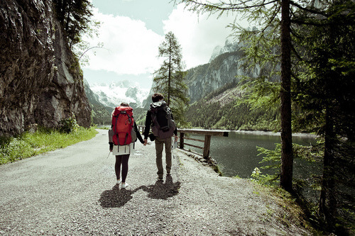 redwoodcollective:  meggielynne:  backpacking together: that's what I want.   indeed.