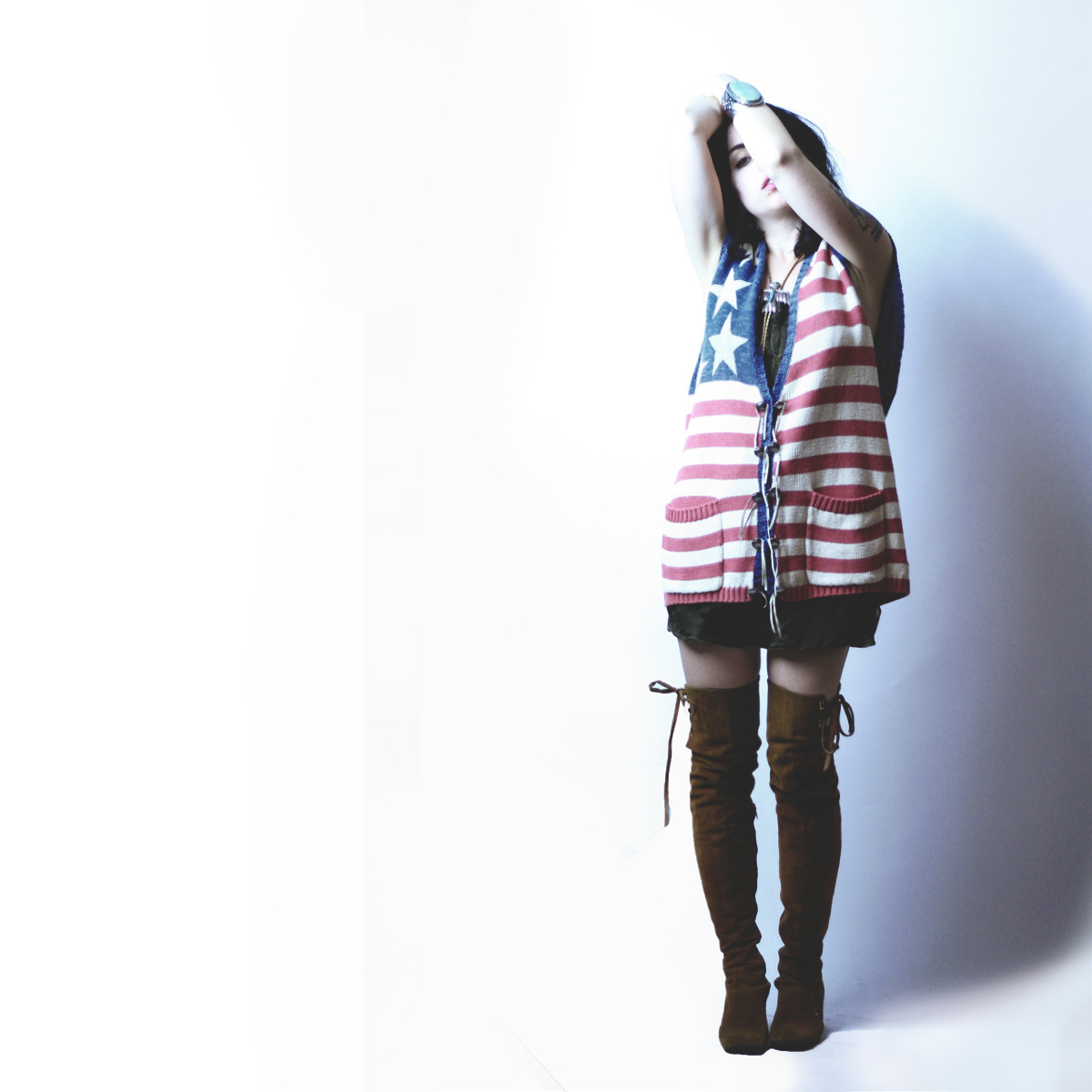 Sold this rad American Flag vest!! I'm heartbroken to let it go..