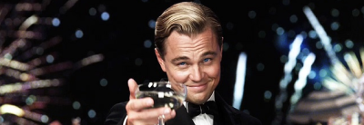 "The GREAT GATSBY [movie] Review :: Now I haven't read the book, but I went into it with the understand that the movie isn't actually about Gatsby, or rather shouldn't be. It's about the narrator, the one who experiences Gatsby. And I think Luhrman captured this in his classic beautiful fashion. If you're familiar with his work on Romeo and Juliet, you know how amazing the teamup of Baz/Leo can be! Anyway, I spent most of the movie simply captivated by DiCaprio's performance. It's almost as if his longing for ""the green light"" is his never ending journey for an Oscar…It's visually stunning, the soundtrack had my head bobbing the whole time, and the charm of each character mixed with the directorial view had me sunk deep into the world they had created.  See it, old sport…"