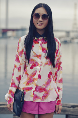LMFF street style day 4 - Cool shirt