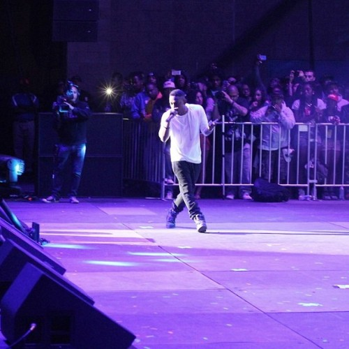 #kdot arriving on stage #kendricklamar #paiddues #blackhippy