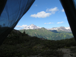viewfromthetent:  Front Door View by slood on Flickr.