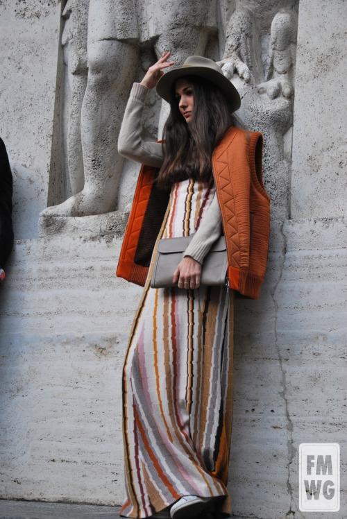 diletta bonaiuti Missoni salvatore ferragamo mfw mmfw women lord fmwg street style fashion Tumblr