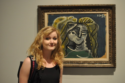 We found a painting by some Picasso guy that looks like my sister